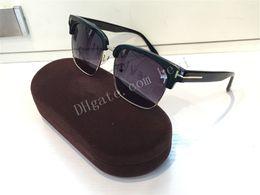 Wholesale River Free - Free shipping fashion luxury 0367 sunglasses River Vintage sunglasses Edition Square Retro Designer semi rimless frame fashion oversized