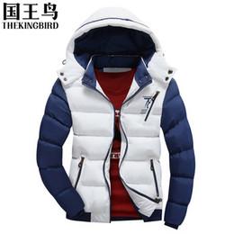 Мода отрезной куртка мужская куртка онлайн-Осень-мужские куртки мужские 2016 зимние хлопчатобумажные куртки новый мужской моды случайные толстые мягкий пуховик съемная крышка пальто