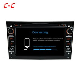 Wholesale Dvd Vectra - Quad Core HD 1024*600 Android 5.1.1 Car DVD Play for Astra vectra antara with GPS Navigation Radio Wifi Mirror link DVR