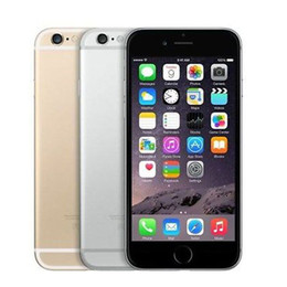 Wholesale Screen Apple 3g - Refurbished Unlocked Original Apple iPhone 6 Plus Iphone 6 16GB 64GB 128GB 5.5 Screen IOS 8 3G WCDMA 4G LTE 8MP Camera Mobile Phone
