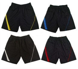 одежда для бадминтона для мужчин Скидка 2017 новый настольный теннис спортивные шорты, настольный теннис шорты, мужчины женщины бадминтон одежда спортивные брюки шорты спортивная одежда, бадминтон шорты м-4XL