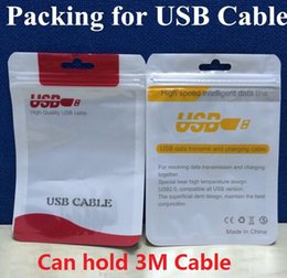 Wholesale Iphone 4s Sync Cable - Cable packing Retail Package Bag Boxes For Micro USB charger data sync cable audio earphone iphone 6 6S plus 5s 4s Samsung Galaxy S5 S6 LG