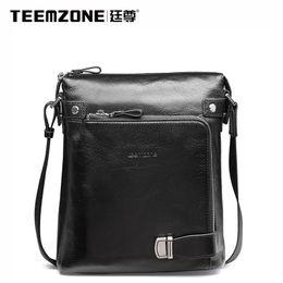 Wholesale Teemzone Bags - Wholesale-teemzone Hot Men's Messenger Bag Men Leisure Business Single Shoulder Bag Computer Casual Briefcase Brand Crossbody Bags