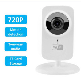 Wholesale Cctv Systems Monitor - Mini IP Camera Wi-Fi 720P HD P2P Smart CCTV Camera Fashion Baby Monitor Home Security System Video Recorder IP kamera V380 S1