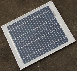 Diy mp3 online-El panel solar de silicio policristalino de 10W 18V de alta calidad utilizado para 12V Energía solar fotovoltaica Inicio Sistema Solar Envío gratis