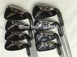 Wholesale Golf Irons Covers - 2016 New M2 Iron M2 Golf Irons OEM M2 Golf Clubs 4-9PSw(8PCS) Regular Stiff Flex Steel Shaft With Head Cover