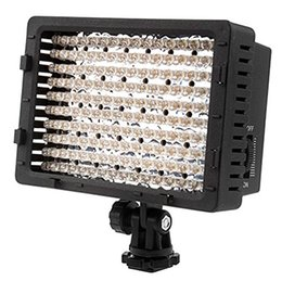 Wholesale Lights For Video Camera - 160 LED Video Camera Light DV Camcorder Photo Lighting 5600K 3200K for Canon Nikon High Power Panel Digital Camera   Camcorder Video Light