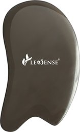 Wholesale Massage Healing - Leosense Authentic Bian-Stone Gua Sha Scraping Massage Tool,Heavy Healing Stone Guasha Board for ASTYM,Graston,Myofascial Release(Square)