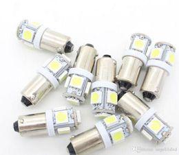 Wholesale Automobile Instruments - BA9S 5050 SMD 5 LED Lights Tower Car Lamps T11 Automobile Bulbs Side Instrument Door Lamps
