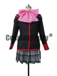 Anime uniforme ragazza di scuola online-Little Busters Cosplay School Girl Uniform