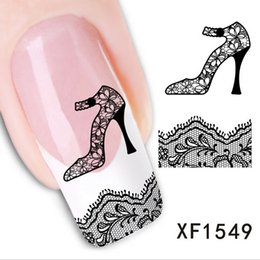 Wholesale Kiss Hot Sex - 2016 Nail Art Decals Nails Wraps Temporary Tattoos Watermark 12 hot sex kiss love design nail Water Transfer Stickers