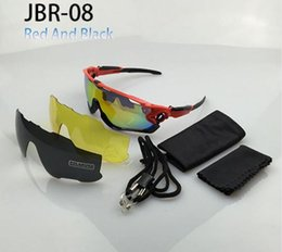 Wholesale Mtb Frame Full - Full Frame 3 lens Sunglasses Mountain Road Bike Cycling Glasses UV400 MTB Sport Bicycle Goggles Oculos Ciclismo Jawbreaker Cycling Eyewear