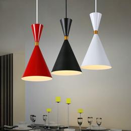 Wholesale Red Head Art - Retro simplicity study bedroom single creative dining room LED lamp headlight bar chandelier three head combination commercial lighting
