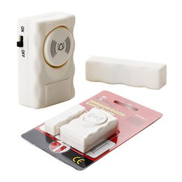 Wholesale Burglar Alarm Magnetic Door Sensor - Wireless Window Door Entry Alarm 90dB Wireless Magnetic Sensor Alarm System Home Safe Security Burglar Alarm