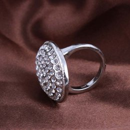 Wholesale Bella Twilight Engagement - Twilight Bella Engagement Ring Inlaid Alloy CZ Diamond Cluster Rings 5 Size For Women Hot Sale