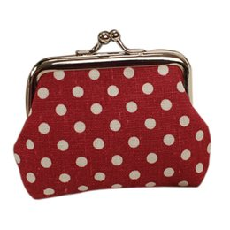 Wholesale Cute Cheap Canvas Bag - Wholesale- TEXU Mini Cute Women Coin Purse Cheap Casual Canvas Coin Bags For Women Fashion Women Bag