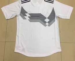 Wholesale National Team Soccer Uniforms - 2018 world cup KLOSE home white Soccer Jersey MULLER national team soccer shirt OZIL KROOS GOTZE Football uniforms sales HUMMELS
