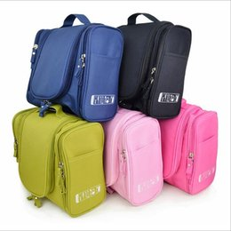 Wholesale Bulk Cosmetics - Domain1 Hot Sale!Large Hanging Travel Man Deluxe Toiletry Bag Wash Makeup Organizer Pouch Women Big Cosmetic Bags Bulk