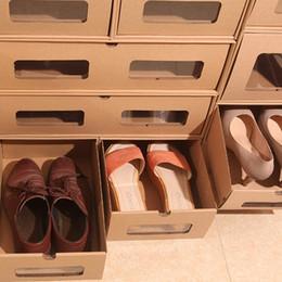 Wholesale Wholesale Shoes Modern - Customizable Shoe box, Corrugated box Packing Boxes, Corrugated boxes, Drawer type Storage box, living storage box, free shipping