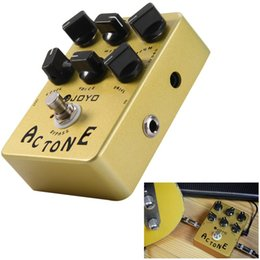 Wholesale Guitars Amps - Joyo AC Tone Electric Guitar Effects Pedal Classic British Rock Sound Vox AV-30 Tone AMP Simulation Guitar Effect Stompbox