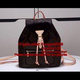 Wholesale City Bags - MONTSOURIS M43431 drawstring chic city BACKPACK book satchel womens ladies luxury handbag M43462 M43434 419584 N41500 LOCKME M54848 N41578