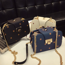 Wholesale Candy Phone - 2017 NEW Fashion Small Women Shoulder Bag mobile phone Chain Handbag Bag High Quality Factory Price Sale