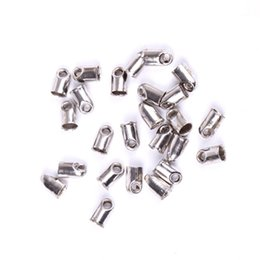 Wholesale Necklace Tip - 300pcs lot End Tips Bottom Bead Caps Components For Jewelry Making Necklace Bracelets Fashion Jewelry Accessories