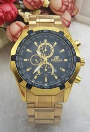 Wholesale Mens Watches Big Bang - 2017 Quartz Big Bang Sports Mens Watches Big Dial Display Top Brand Luxury watch Cassio Watch Steel Band Fashion Wristwatches For Men CSO