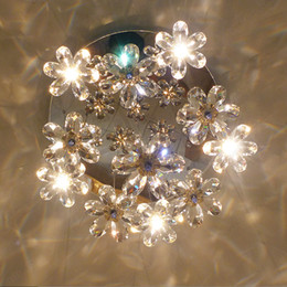 Argentina Moderna ronda de luz de techo LED Lámpara de techo interior Lámparas de cristal de lujo Lámparas de bolas de alambre Accesorios 7/1315/19/27 Luces Suministro