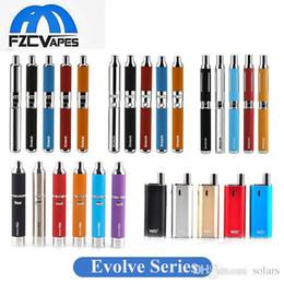 Wholesale Hot Singles - Authentic Yocan Vaporizer Evolve Plus Evolve C Evolve D Hive Wax Herbal Vape Pen Kit 5 Colors Hot Selling In Stock