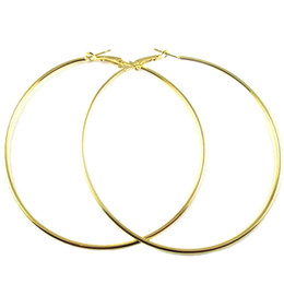 Wholesale Sterling Silver Hoop Earrings Women - 2016 Newest Gold 925 sterling silver Big Hoop Earrings Basketball Brincos Silver Large Circle Party Earrings for Women