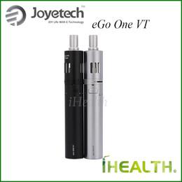 Wholesale Ego Vw - 100% Original! Joyetech eGo One VT Starter Kit 2300mah eGo One VT Battery with 4.0ml eGo One Mega Atomizer Swithcable VT-Ni VT-Ti VW modes