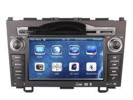 Wholesale Dvd Gps Navigation Crv - Car DVD Player GPS Navigation for Honda CRV CR-V 2006-2011 with Radio Bluetooth USB SD RCA AUX Audio Video Stereo