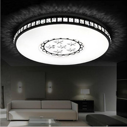 Ultra Thin Surface Mounted Modern Round Led Ceiling Light For Living Room Kids Bedroom Kitchen