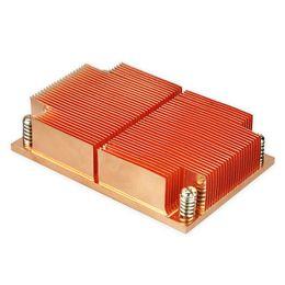 Wholesale Laser Cpu - Intel LGA 2011 CPU server Military industry Laser energy Medical device high performance copper aluminum skive ILM narrow heat sink