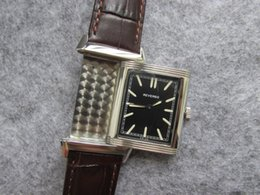 Wholesale Limited Gift - REVERSO MEN WOMEN QUARTZ WATCH WRISTWATCH 1000 HOURS CONTROL NICE BIRTHDAY GIFT