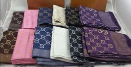 Wholesale Thicker Chiffon - G Brand New Scarf for Winter 2017 Women luxury designer scarfs warm long section of thicker scarf size 180x70cm