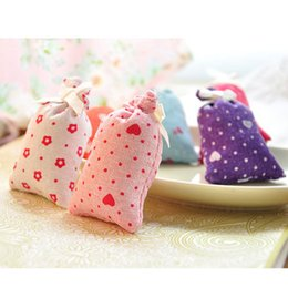Wholesale Office Wardrobes - Wholesale- New Lovely Pretty Practical Mini Dried Flower Bud Filled Fragrant Sachet Office Room Wardrobe Multi Scent