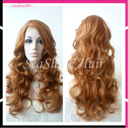 """Wholesale Curly Remy Hair For Sale - FREE SHIPPING Hot Sale 8""""-26"""" 100% Peruvian Virgin Remy Human Hair Front Lace Wig With Baby Hair Body Wave For Black Woman"""