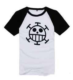 Wholesale T Paragraph Spring - ONE PIECE t-shirt Cosplay Costume Trafalgar Law Spring and Autumn paragraph Anime t-shirt Sweatshirts トラファルガー・D・ワーテル・ロー