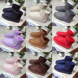 Wholesale Korean Version - Free shipping 2017 new Australian snow boots women short tube non-slip winter cotton women's new Korean version of the wild waterproof Taiwa