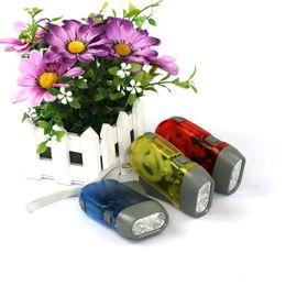 Wholesale Green Hid Bulbs - Hand pressing LED mini flashlight multifunctional hand flashlight self rechargeable flashlight