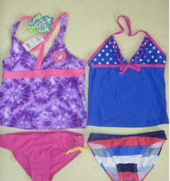 Wholesale Mixed Girls Swimsuits - 40pic Mix styles Family Girls Swimsuits Girls Swimwear Mermaid Swimsuit Costume Girls Mermaid Swimsuit Clothes Beach Swimming Clothes