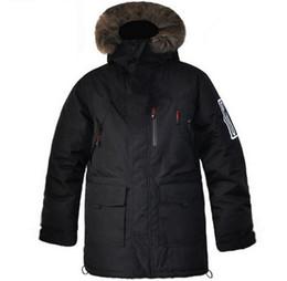 Wholesale Down Sweden - Black PK Long down parka outerwear Sweden men winter down coats for cold weather