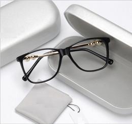 perle grand-cadre miroir plat capricieux et le style féminin de l'encadrement des femmes myopie artistique cadre des lunettes ? partir de fabricateur