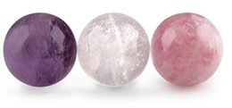 """Wholesale Paper Sphere - Choose Your Own 1.75"""" Crystal Sphere Ball with Glass Stand"""