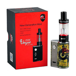 Wholesale Camouflage Kit - 100% Original Amigo Mini Vogue 50W Mod Kits Camouflage Version Mini Vogue 50W Box Mod 2ml Mini Riptide Tank Portable E Cigs Vaporizer