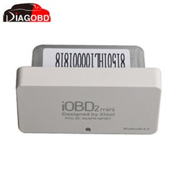 Wholesale Iobd2 Bluetooth - Wholesale-XTOOL iOBD2 Mini OBD2 EOBD Scanner Support Bluetooth 4.0 for iOS and Android