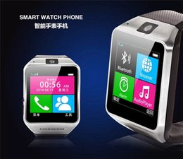 """Wholesale Quality Spy Camera - High-quality Wearable GV08 Smart Watch Phone With 1.3Mp Spy Camera 1.5"""" Touch Screen For IPhone Samsung HTC Android Phone XB"""
