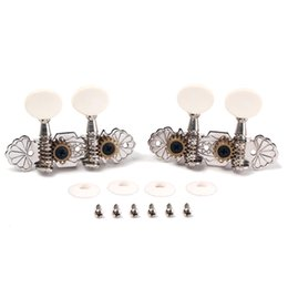 Wholesale Tuning Machines Strings - Brand New 1 Pair (2R2L ) Guitar Tuning Pegs Machine Heads Tuner for Ukulele 4 Strings Classical Guitar